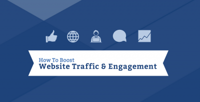 how to boost website traffic and engagement