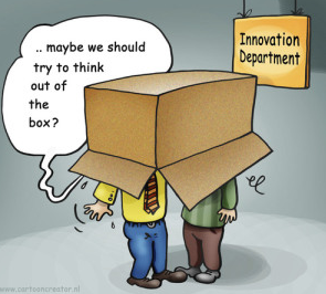 think out of the box in presentation