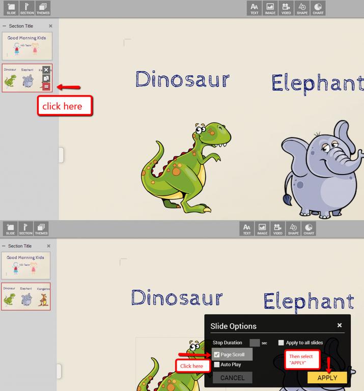 dinosaurio presentacion